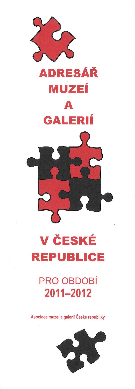 Adresář muzeí a galerií v České republice pro období 2011–2012 ccf0ae6eeb
