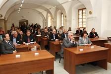 Národní zahájení IX. ročníku Festivalu muzejních nocí 2013 v konferenčním sále Muzea Jindřichohradecka.