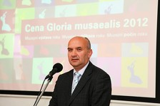 PhDr. Peter Hyross, předseda Zväzu múzeí na Slovensku.